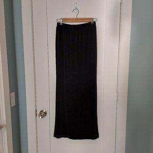 Long Black Vintage 90's Issey Miyake Skirt